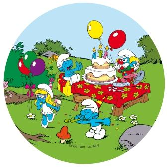 smølferne fødselsdag